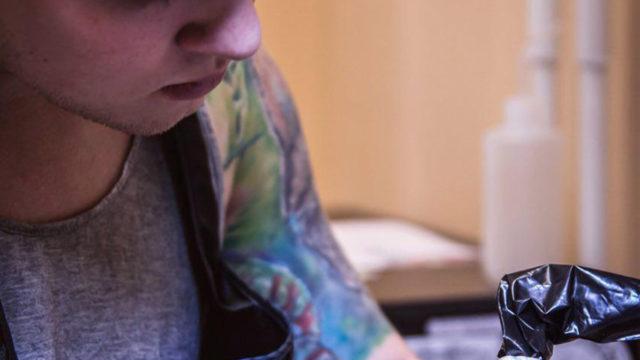 Дмитрий Горбунов в гостях у Free Art Tattoo